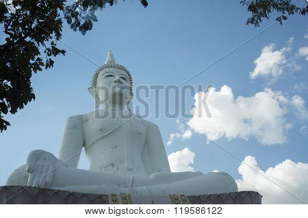 Thailand Isan Surin Wat Phanom Sawai Buddha