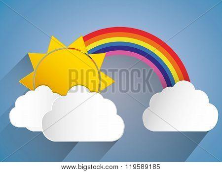 Rainbow icon design