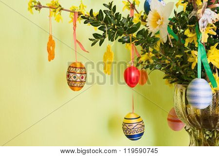 Colorful Easter Eggs Decoration