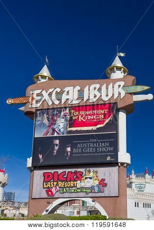 The Excalibur Hotel And Casino