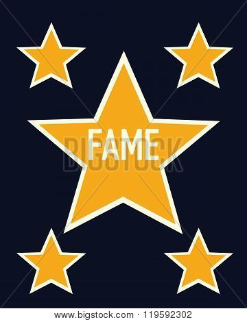 Vector Fame Star