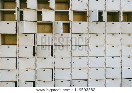 Rusty old locker