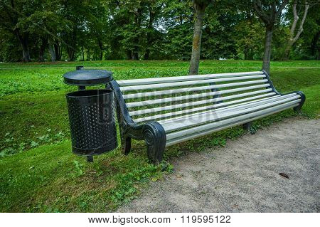 Bench For Rest In The Park