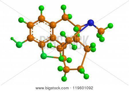 Molecular Structure Desomorphine