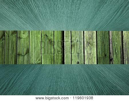 Natural Wood Background Or Backdrop, Pastel Greens.