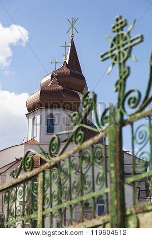 Moldova, Church in the city of Truseni