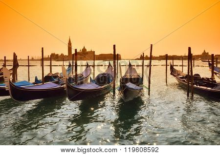 Gondola In Venice,italy