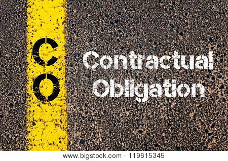 Business Acronym Co Contractual Obligation