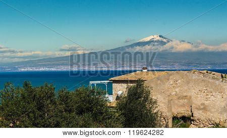 Etna And Sea