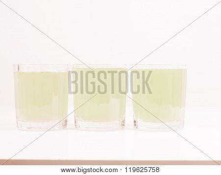Green Apple Juice Vintage