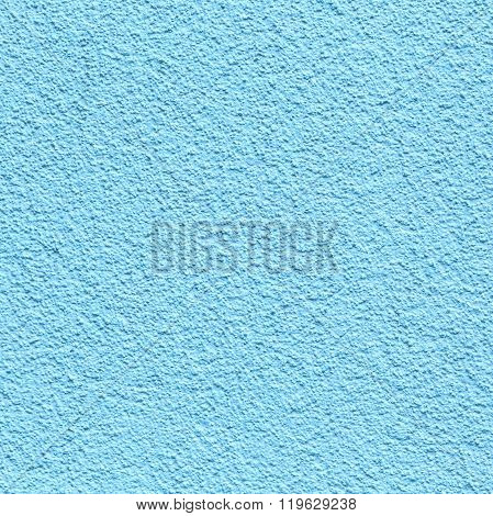 Blue Painted Plaster Wall