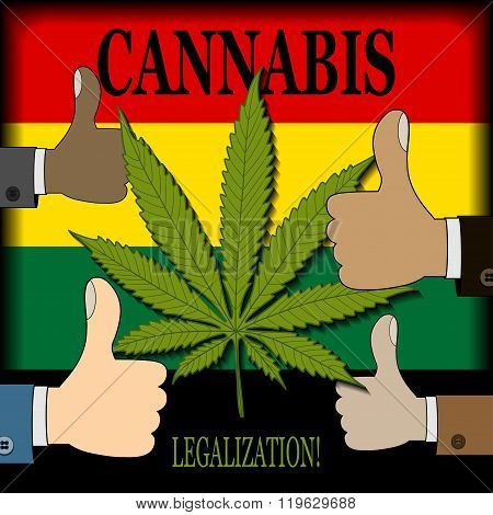 Supporting the legalization of cannabis