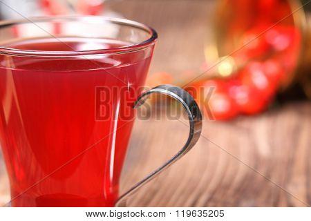 Fresh Rose Hip Tea