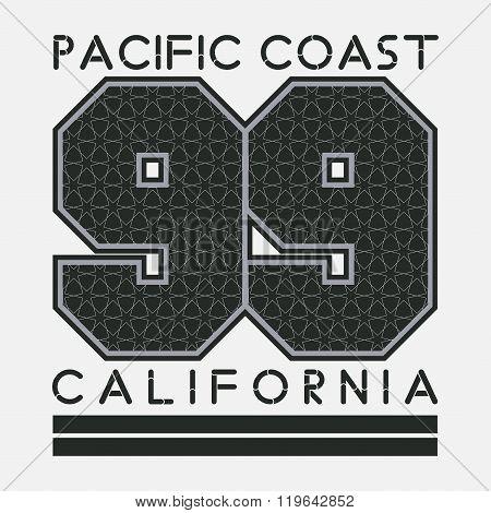 California T-shirt, Fashion, Printing, Sport