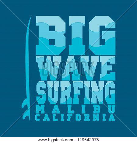 Surfing, Malibu, California, Surfing T-shirt
