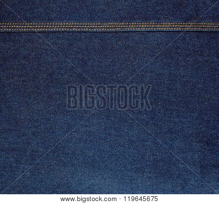 Raw Blue Denim