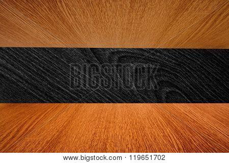 Wooden Background Design, Dark And Light Wood Grain Backdrop.