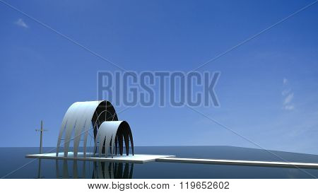 Image Of Most Beautiful Church With Nice Background
