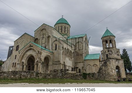 Bagrati Cathedral (also The Cathedral Of The Dormition Or The Kutaisi Cathedral) Is An 11Th-century