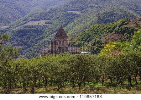 Medieval Tatev Monastery, Armenia, About Ix Century, Big Building Is Church Of St. Poghos And Petros