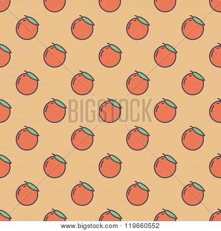 Background made of oranges