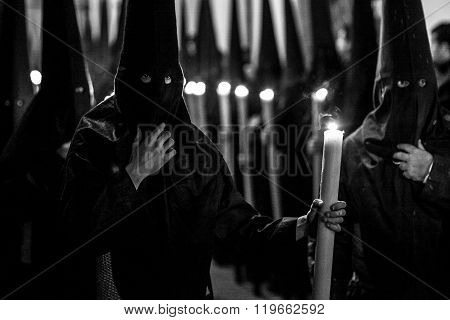 Easter procession, Seville, Spain