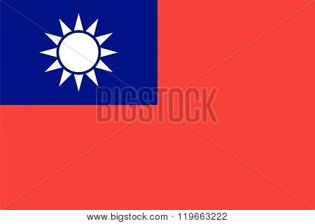 Standard Proportions For Taiwan Flag