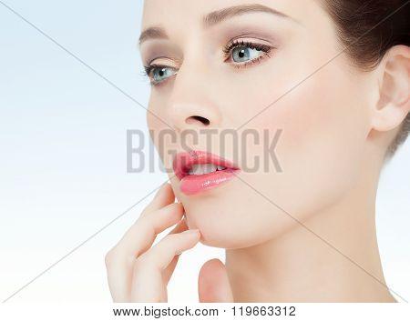 Beautiful Fresh Woman