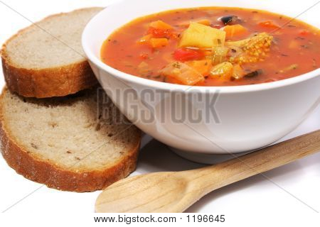 Fresh Vegetable Soup