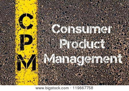 Business Acronym Cpm Consumer Product Management