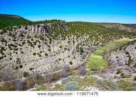 Moscardon La Canada point Sierra Albarracin mountains in Teruel Spain