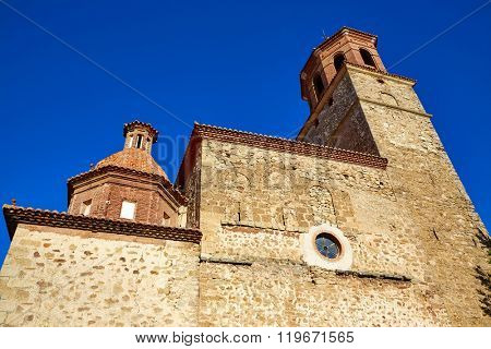 Terriente village in Sierra de Albarracin Teruel Spain