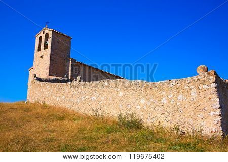 Corratxar Sant Jaume church in Tinenca Benifassa of Spain Castellon