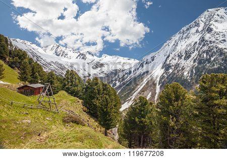 Alp In South Tyrol