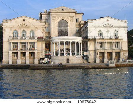 Ukraine, Sevastopol 15.09.2005. The Palace of pioneers