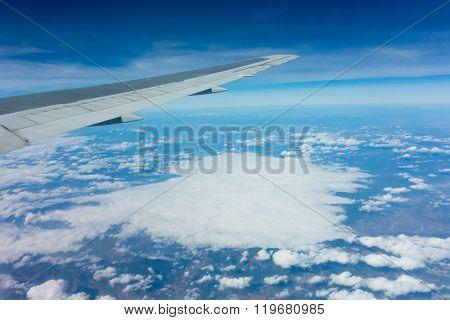 Airplane Air View