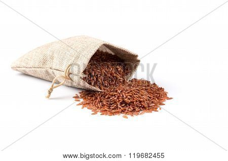 Heap Of Red Rice