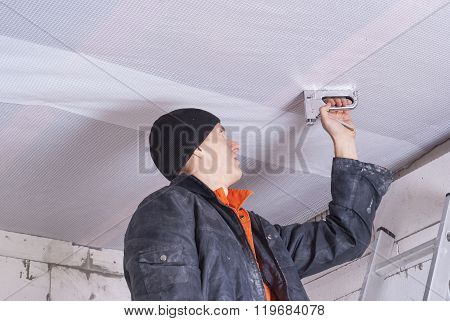 Installation Of A Vapor Barrier
