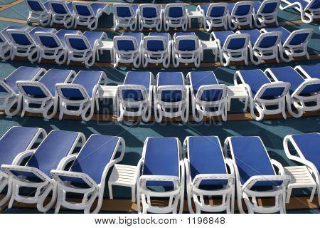 Empty Sun Loungers
