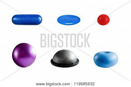 Balance training equipment isolated