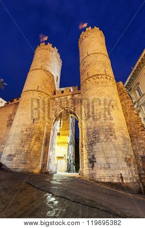 Porta Soprana In Genoa