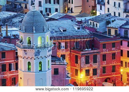 Church Of Santa Margherita D'antiochia In Vernazza