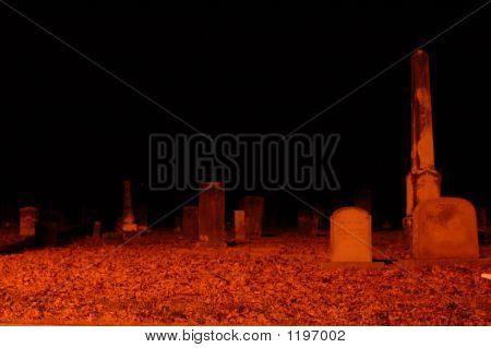 Night In The Cemetary