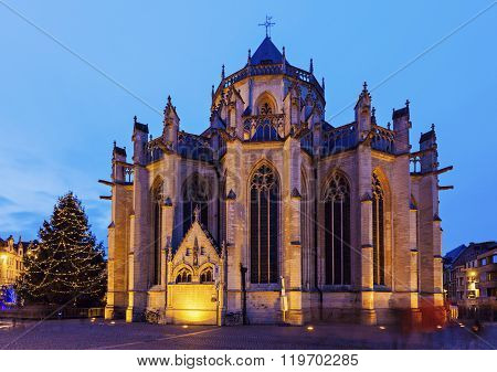 St. Peter's Church. Leuven Flemish Region Belgium.