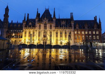 Provincial Palace In Bruges