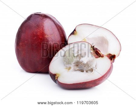 Pomerac, Malay Apple, Isolated On White Background