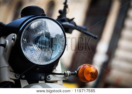 Classic Motorcycle Headlight