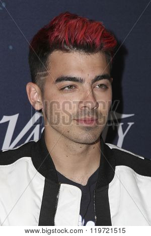 LOS ANGELES - FEB 25:  Joe Jonas at the 3rd Annual unite4:humanity at the Montage Hotel on February 25, 2016 in Beverly Hills, CA