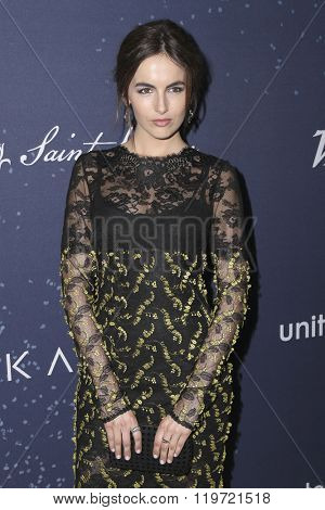 LOS ANGELES - FEB 25:  Camilla Belle at the 3rd Annual unite4:humanity at the Montage Hotel on February 25, 2016 in Beverly Hills, CA