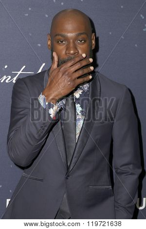 LOS ANGELES - FEB 25:  Mali Music at the 3rd Annual unite4:humanity at the Montage Hotel on February 25, 2016 in Beverly Hills, CA